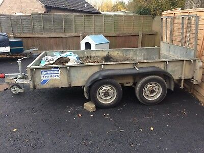 To plant trailers IFor Williams trailer and a independence trailer double axles