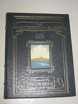 Easton Press The Mysterious Island by Jules Verne Illustrated by N.C. Wyeth