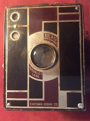 Beau Brownie Art Deco Box Camera