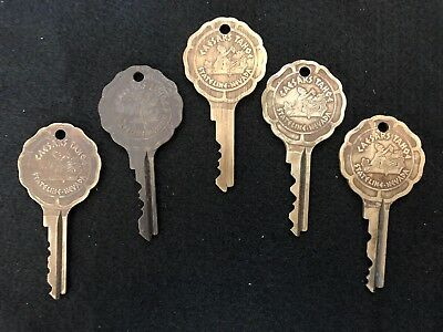 Vintage Caesars Palace Stateline Nevada Hotel Room Lot Of 5 Keys Tahoe Casino #8