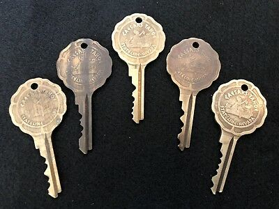 Vintage Caesars Palace Stateline Nevada Hotel Room Lot Of 5 Keys Tahoe Casino #9