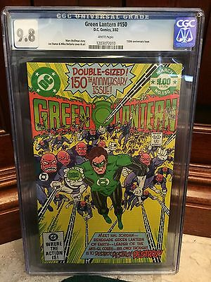 Green Lantern #150 Cgc 9.8 Nm/mt ~ 150Th Anniversary Issue ~ White Pages