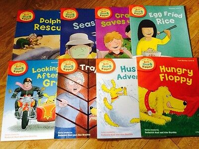 Oxford Reading: Read with Biff,Chip & Kipper. Level 5 (8 Books)Free P&P