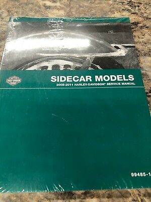 Harley-Davidson 2008-2011 Sidecar Model Service Manual