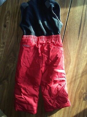 Toddler Boys Snow Pants and Winter jacket set sz 3t Columbia
