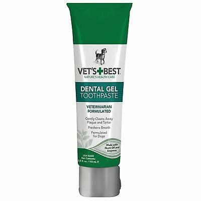Enzymatic Dental Gel Toothpaste For Dogs 3.5 OZ USA Made Pet Care