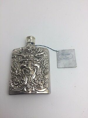 Godinger Flask Bacchus God Of Wine (H4)