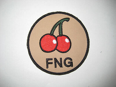 USAF Patch 321st STS Original FNG Cherry patch