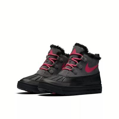 Nike  Kids Girls Toddler and Youth Sizes Winter, Snow, and Rain Boots Black/ Pin
