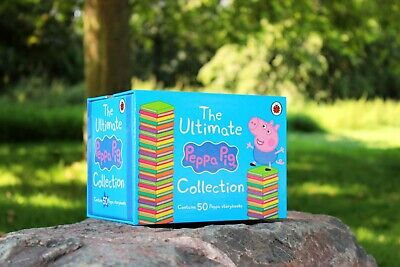 Ultimate Peppa Pig 50 Books Children Collection Paperback Box Set By Ladybird