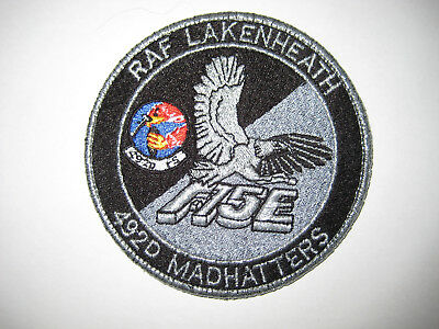 USAF Patch 492d Fighter Squadron Night Day Patch