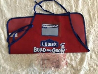 New Lot Of 16 Each, Kid's Lowes Aprons And Safety Goggles