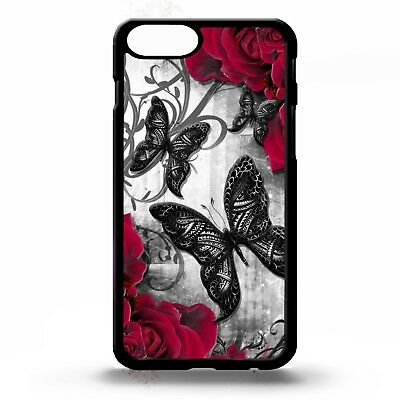 ad967e3a6 Butterfly print butterflies floral pattern roses flower graphic phone case  cover