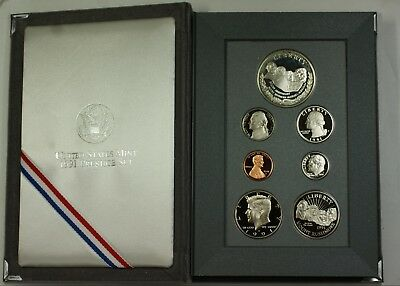1991 U.S. Mint Mount Rushmore Prestige Set Gem Proof Coins as Issued
