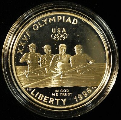 1996 Olympic Proof Silver Dollar. ITEM Z12
