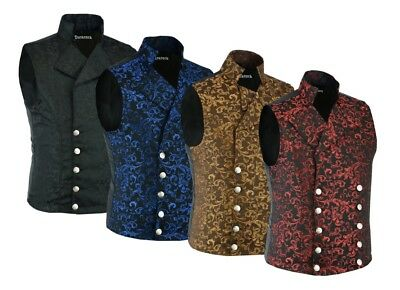 Men's Steampunk Double-breasted Waistcoat Vest Gothic/Western-Reenactment