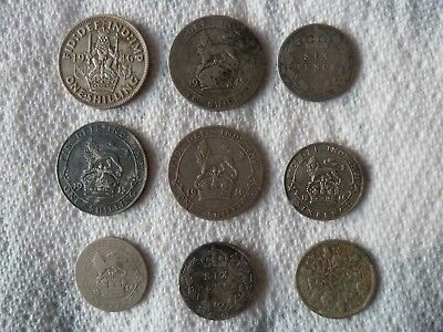 silver milled coins and hammered coins british metal detecting finds