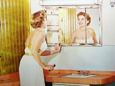 1956 MIAMI CAREY Bathroom Cabinets Mirrors Access. Fans Heaters Vintage Catalog