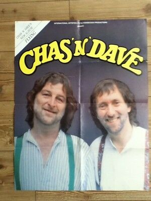 Chas & Dave - Flying LP - Advert / Giant Poster - 65.5cm x 51cm