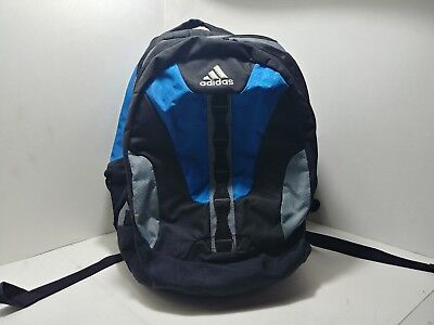 836943595569 ADIDAS SPRING LOAD Blue Book Bag Sports Backpack School Or Everyday ...