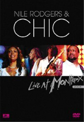 Nile Rodgers and Chic: Live at Montreux DVD NUOVO