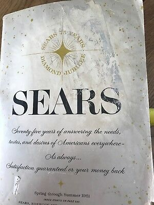 1961 Spring & Summer Sears Catalog  1461 Pages