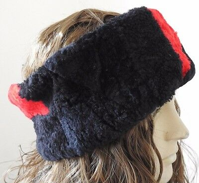 Toggi Warner Warm Winter Head Band Reversible Navy//Red  FREE Delivery