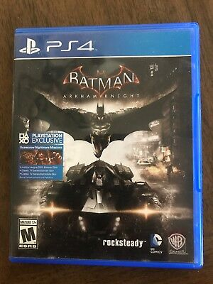 BATMAN ARKHAM KNIGHT  PlayStation 4 PS4 Game
