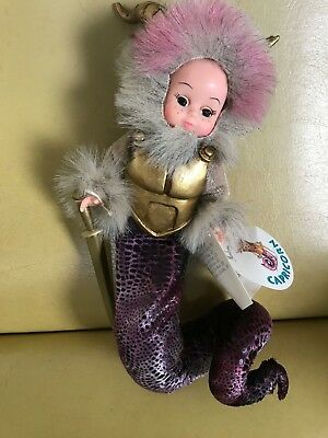 "Nib Madame Alexander ""capricorn""  Zodiac Collection Doll # 21300 Sale"