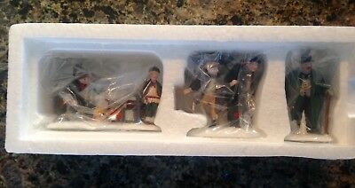 "Dept 56 Dickens Village ""Oliver Twist"" #5554-9 Set of 3 NIB Never Displayed!"