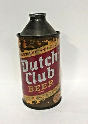 Dutch Club Cone Top beer can - Indoor