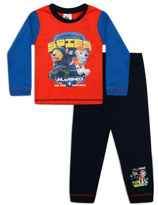 b322ec3057242 Boys Official Genuine Paw Patrol Pyjamas Age 18-24 Months up to 5 Years  Spies
