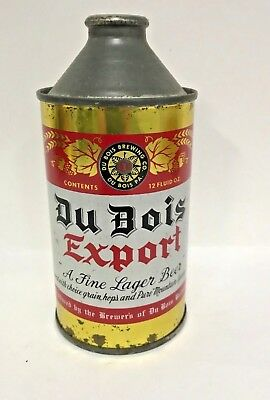 DuBois Cone Top beer can - Indoor