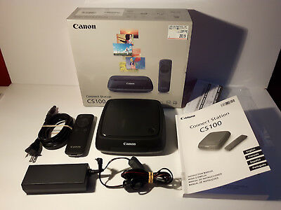 Canon CS100 Connect Station 100 used once complete in box 1tb