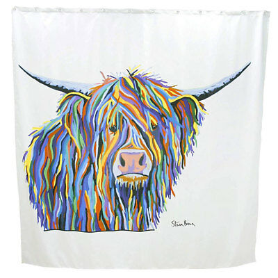 Croydex AF304022H Angus McCoo Art by Steven Brown Shower Curtain 1800 x 1800mm