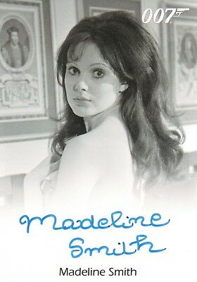 James Bond Archives 2015, Madeline Smith 'Miss Caruso' Autograph Card