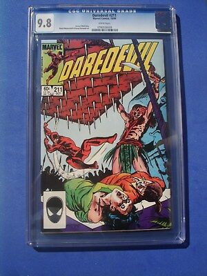 Daredevil #211 CGC 9.8 White Pages.  Mazzucchelli Cover. 1984. MORE LISTED!