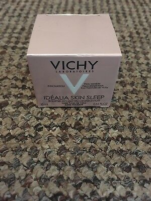 Vichy - Idealia Skin Sleep - Recovery Night Gel Balm - 15ml - New - Boxed