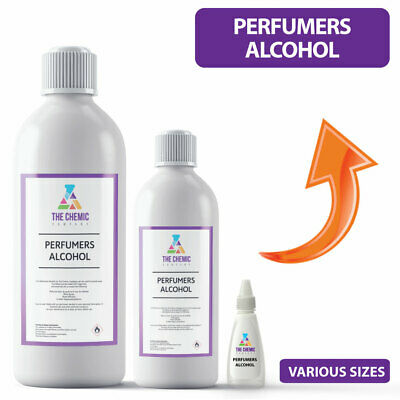 Perfumers Alcohol ALL SIZES Used for Room Diffusers, Fragrances and Perfumes