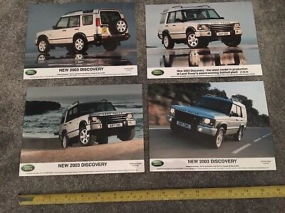 5x Land Rover Discovery 2 Press Photo