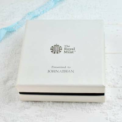 Snowman Silver Proof 50p 2018 coin in Deluxe Personalised Box Royal Mint LE 2000