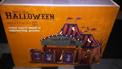 DEPT 56 Halloween TRAVIS LOUIE'S WORLD OF OTHERWORLDLY PERSONS NEW.