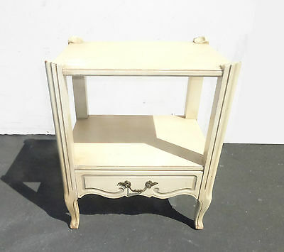 Vintage French Provincial NIGHTSTAND By Chateau Provincial
