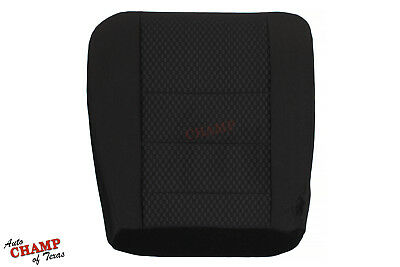 2008 2009 2010 Ford F450 F550 FX4 XLT -Driver Side Bottom Cloth Seat Cover Black