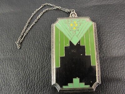 """VINTAGE """"ART DECO"""" 1920's TO '30's LADY'S COMPACT"""