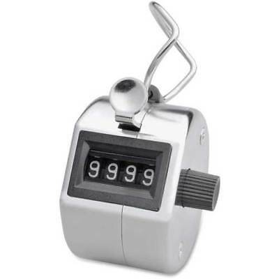 Hand Tally 4 Digit Clicker Pitch Counter Golf Stroke Counter New