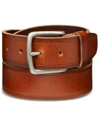 Levis Bridle Leather Belt Brown Small Mens New