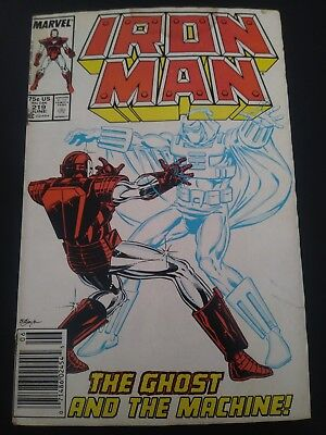 Iron Man #219 (Jun 1987, Marvel)