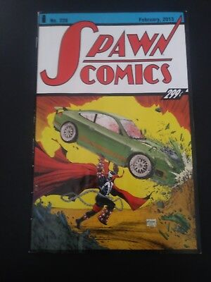 Spawn #228 Action Comics #1 Homage cover