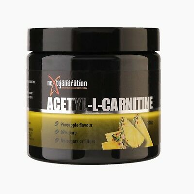 Pure Acetyl L Carnitine /pineapple Flavour/ 99% Pure No Sugar No Fillers